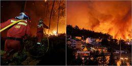 Cháy rừng kinh hoàng ở Bồ Đào Nha và Tây Ban Nha khiến 30 người thiệt mạng