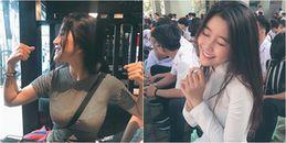 Nữ sinh 10x Sài thành gây sốt cộng đồng mạng vì một lý do: 'Ngực khủng'