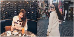 Phạm Hương phủ nhận sắp lấy chồng, khoe street style sang chảnh ở Seoul Fashion Week