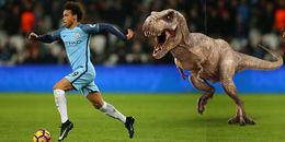 Sao ngoại hạng Anh chạy nhanh hơn cả khủng long T-Rex