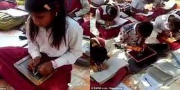 Ngôi trường độc nhất vô nhị: Tất cả học sinh đều có thể cùng lúc viết bằng hai tay