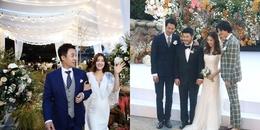 Đo độ hoành tráng của hai đám cưới đẹp như mơ, quy tụ dàn sao 'khủng' trong phim Vườn sao băng