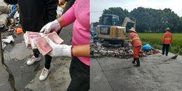 Vứt nhầm 170 triệu, cặp vợ chồng hốt hoảng lục tung 10 tấn rác để tìm lại