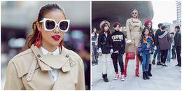 Ăn mặc kín đáo, Phạm Hương vẫn gây 'náo loạn' Seoul Fashion Week