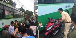 'Hung thần' xe buýt tông 2 nữ sinh thương vong trên đường phố