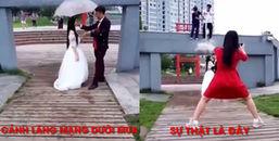 Sự thật siêu hài đằng sau những tấm ảnh cưới lung linh