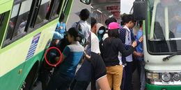 Gọi 1022 nếu hành khách bị móc túi, quấy rối trên xe buýt ở Sài Gòn