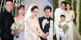 Sao Việt tổ chức đám cưới cùng địa điểm, ai hoành tráng hơn ai?