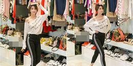 yan.vn - tin sao, ngôi sao - Ngọc Trinh khoe ảnh đội sách đi catwalk chuyên nghiệp không thua Võ Hoàng Yến