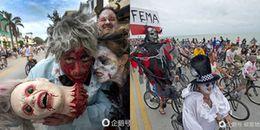 Halloween chưa tới nhưng 'ma quỷ', 'bộ xương', 'quái vật' đã đi đầy đường ở Mỹ đây này