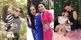 Những bà mẹ đơn thân xinh đẹp, bản lĩnh của showbiz Việt