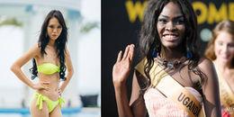 'Hết hồn' với nhan sắc gây sốc của các thí sinh Hoa hậu Hòa bình Quốc tế 2017