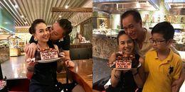 yan.vn - tin sao, ngôi sao - Ông xã Việt kiều hôn Đinh Ngọc Diệp thắm thiết trong ngày sinh nhật