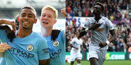 Đội hình tiêu biểu vòng 8 Ngoại hạng Anh: Man City 'nhuộm xanh' Premier League