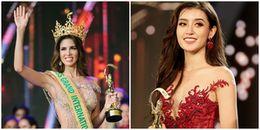 Tân Hoa hậu Hòa bình Quốc tế 2017 gửi lời cảm ơn Á hậu Huyền My