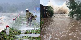 Trong khi mưa lũ vẫn đang hoành hành tại nhiều tỉnh thành thì bão số 11 sắp tiến vào biển Đông