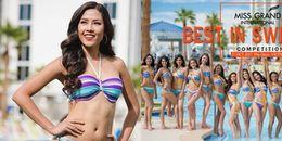 Nguyễn Thị Loan xuất hiện trong poster quảng bá phần thi bikini của Miss Grand International 2017