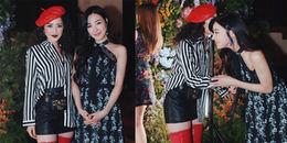 Chi Pu ăn diện cá tính, vui vẻ cùng Tiffany trong sự kiện ở Mỹ