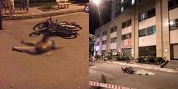 Hà Nội: Hoảng hốt cô gái trẻ rơi từ tầng 25 chung cư suýt trúng người đi xe máy