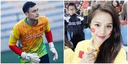 Gạt nỗi buồn sân cỏ, Đặng Văn Lâm khoe hình vui vẻ cùng bạn gái hot girl
