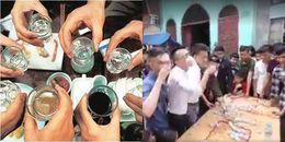 Thách cưới kinh dị: Nhà trai xếp hàng uống rượu như nước lã để được rước dâu