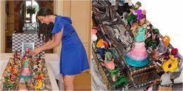 Ông bố chịu chơi nhất quả đất: Chi 1500 tỷ để làm chiếc bánh kem tặng sinh nhật con gái cưng