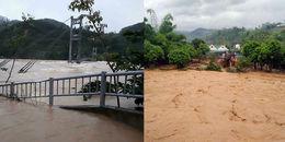 Yên Bái: Nước lũ cuồn cuộn đổ về làm 11 người chết và mất tích, hàng trăm ngôi nhà ngập đến nóc