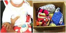Nghệ An: Phát hiện bé trai sơ sinh bị bỏ rơi trong thùng giấy ven đường