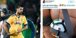 Khedira 'cuỗm' quả bóng mang về kỷ niệm cú hattrick thứ 2 trong sự nghiệp