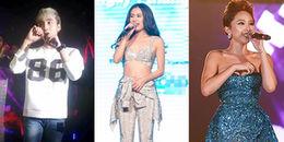 'Dở khóc dở cười' với những sự cố trang phục của sao Việt trên sân khấu