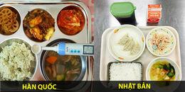 Bữa ăn trưa đầy dinh dưỡng của học sinh các nước trên thế giới có gì nhỉ?