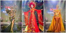 Lộ diện bộ trang phục dân tộc đứng đầu, Huyền My về đích ở vị trí thứ 2