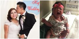 yan.vn - tin sao, ngôi sao - Vợ Việt kiều của diễn viên Hoàng Anh hạ sinh con gái đầu lòng tại Mỹ