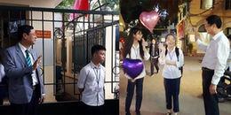 Ấm áp với hình ảnh thầy Hiệu trưởng ngày nào cũng đứng đón học sinh ở cổng trường