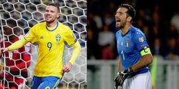 Bốc thăm vòng Play-off World Cup 2018 khu vực châu Âu: Italy gặp khó trước Thuỵ Điển
