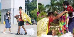 """Bạn trai nhà người ta: Khoác """"long bào"""" rồi đi xe trượt suốt 800km trong 10 ngày để tỏ tình"""