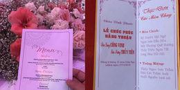 Thực đơn đám cưới sao Việt: Người xa hoa đắt tiền, người giản dị đến không ngờ
