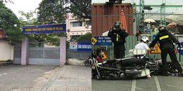 Nhà trường lên tiếng vụ nam sinh bị Cảnh sát cơ động thúc gối vào bụng