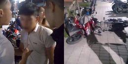 Sài Gòn: Nam thanh niên sinh năm 1995 say xỉn, sĩ diện mượn taxi rồi đâm hỏng hàng loạt xe máy