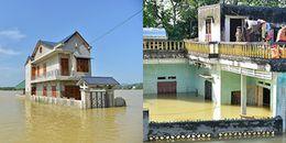 Những hình ảnh xót xa khi người dân ở Thạch Thành, Thanh Hoá vẫn bị cô lập trầm trọng sau lũ