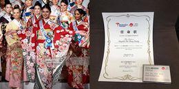 Đại diện Việt Nam nhận giải thưởng đầu tiên ở Hoa hậu Quốc tế 2017