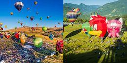 Lung linh lễ hội khinh khí cầu trên khắp hành tinh