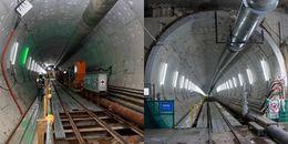 Hầm Metro do robot 'khủng' khoan ở Sài Gòn vượt tiến độ hẳn 1 tháng