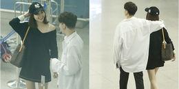 yan.vn - tin sao, ngôi sao - Mặc nghi án hẹn hò, S.T vô tư thể hiện tình cảm với Ninh Dương Lan Ngọc giữa sân bay