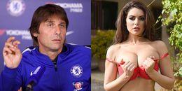 Đang khủng hoảng, Conte và các học trò bất ngờ được 'tiếp sức' từ siêu mẫu ngực khủng