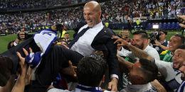 Loạt ảnh: Zinedine Zidane và cuộc hành trình 100 trận trong mơ cùng với Real Madrid
