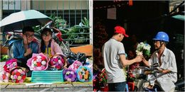 Quà tặng 20/10: Hoa đắt gấp đôi ngày thường vẫn nườm nượp người mua, gấu bông ế chỏng chơ