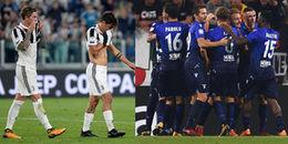 Juventus 1-2 Lazio: Sự đãng trí của Lão bà thành Turin