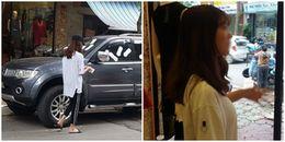 Hà Nội: Cô gái trẻ dán băng vệ sinh kín xe ô tô vì cho rằng chủ xe 'đỗ vô ý thức'