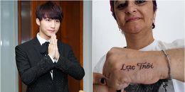 Sơn Tùng M-TP được fan lớn tuổi người Brazil xăm hit 'Lạc trôi' lên tay bày tỏ tình cảm